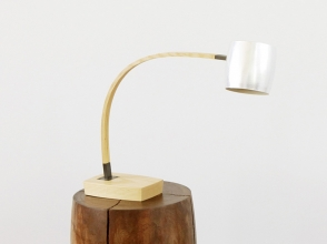 Spun Shade Desk Lamp