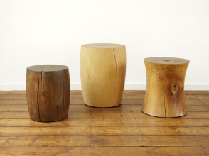 Turned Wooden Pedestals