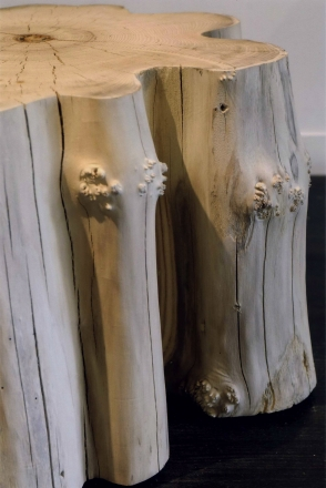 Locust pedestals