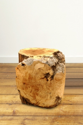 Turned Burl Pedestal
